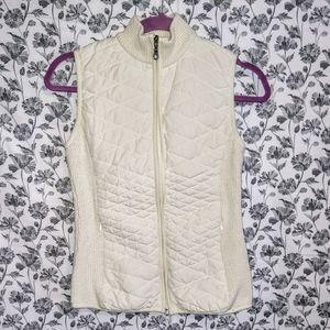 Aventura- White/Jayla Active Knit Vest Size Small